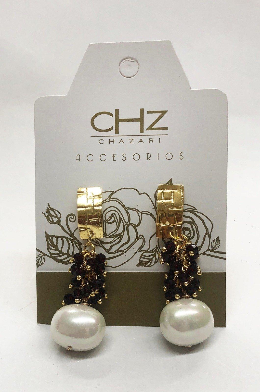 Arete-con-cristales-y-perlas-Chazari-CHZ235vinotinto