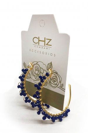 Candonga-con-cristales-Chazari-CH-240-Azul-rey