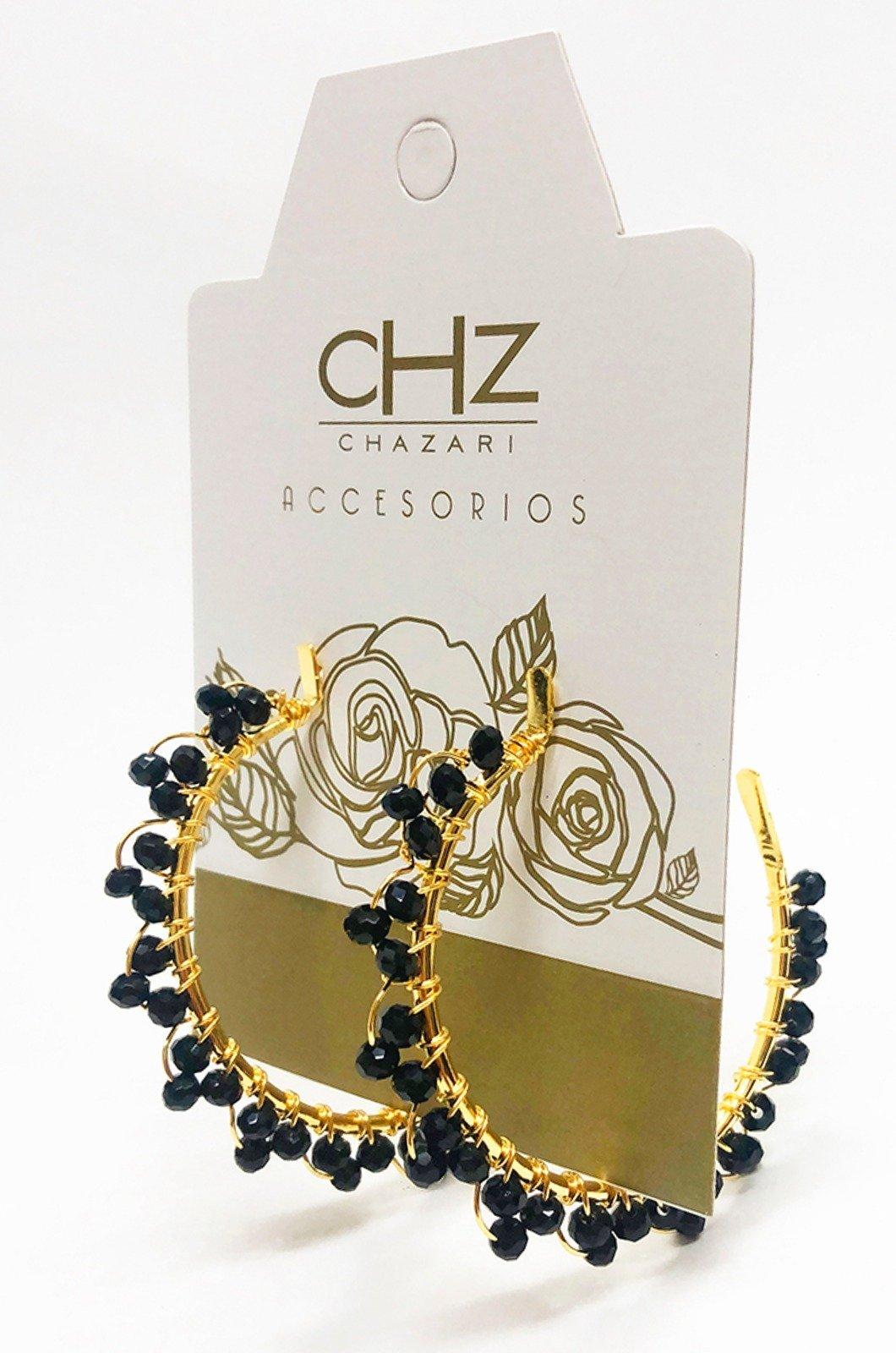 Candonga-con-cristales-Chazari-CH-240-Negro