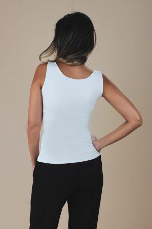 Blusa básica de lycra - Chazari 4812 02