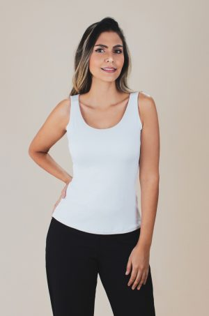 Blusa básica de lycra - Chazari 4812